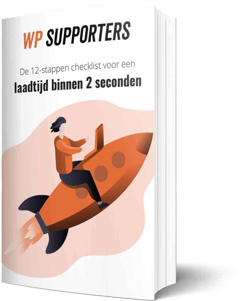 WordPress onderhoud snelheidsoptimalisatie