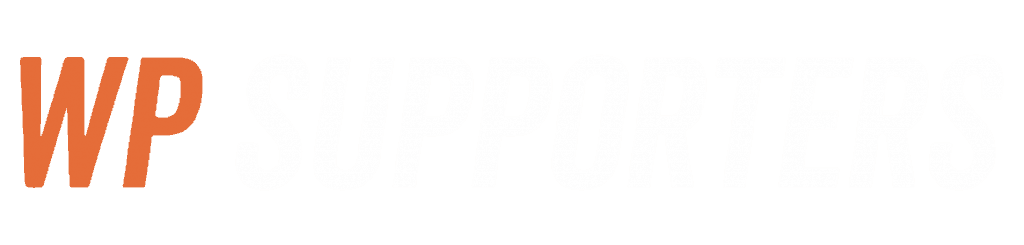 WPsupporters logo wit