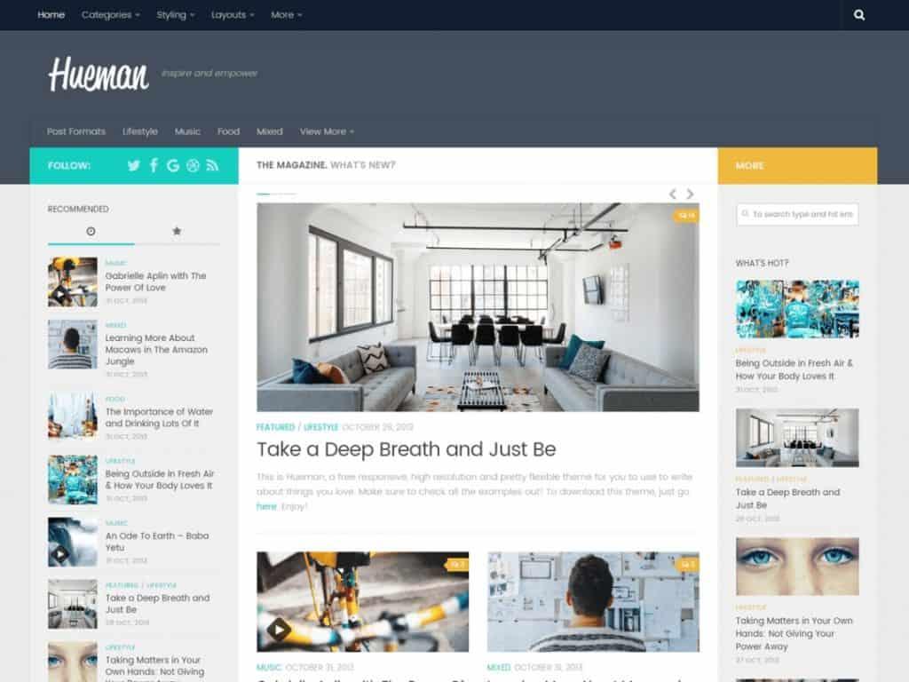 Snelle WordPress thema's van 2020 9