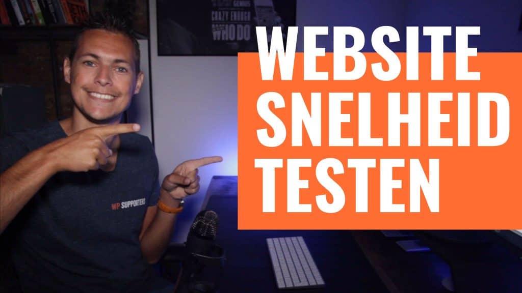 Hoe test je jouw Website snelheid 1